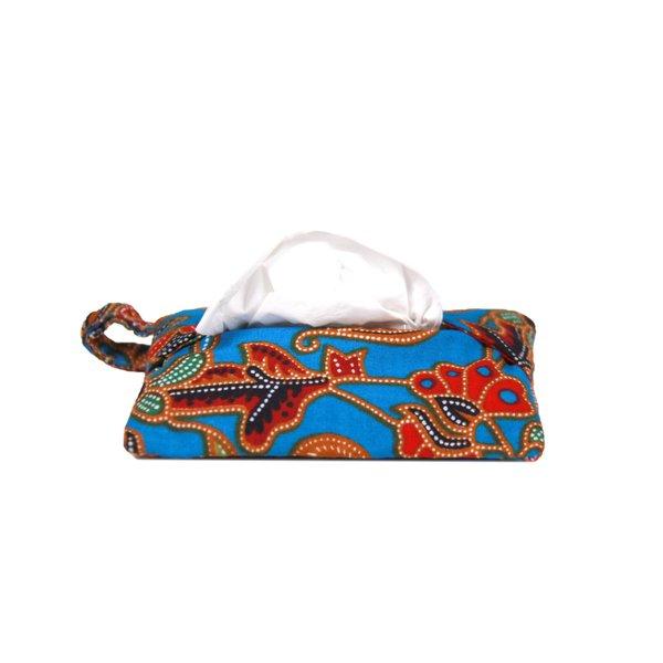 Batik Tissue Pouch with Zipper Pocket 2