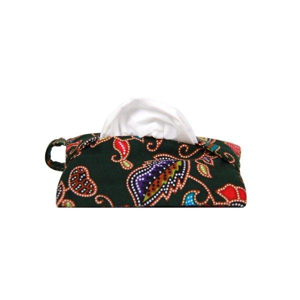 Batik Tissue Pouch with Zipper Pocket 3