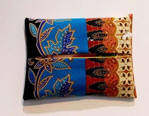 Batik Tissue Purse 26