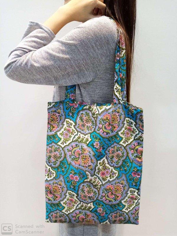 Batik Tote Bag - Peranakan