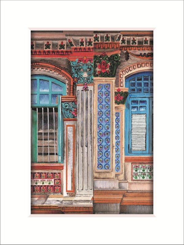 Peranakan House Window