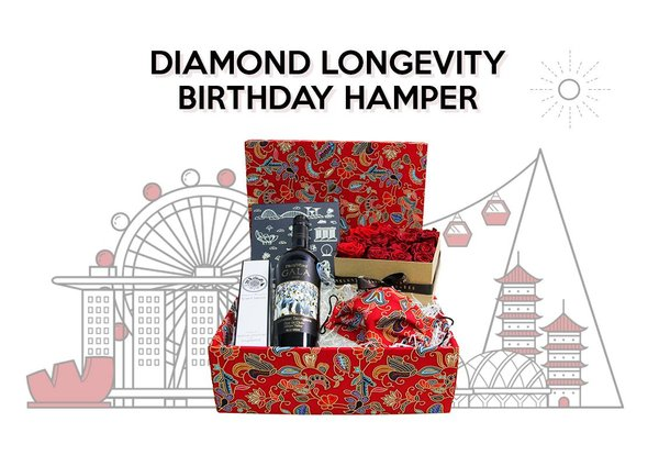 Diamond Longevity Birthday Hamper