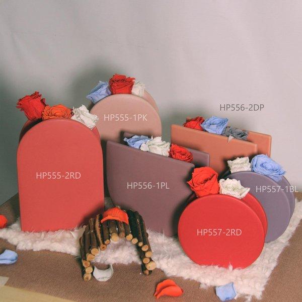 Medium Porcelain Vase With Preserved Roses
