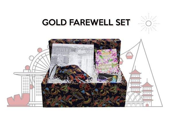 Gold Farewell Set