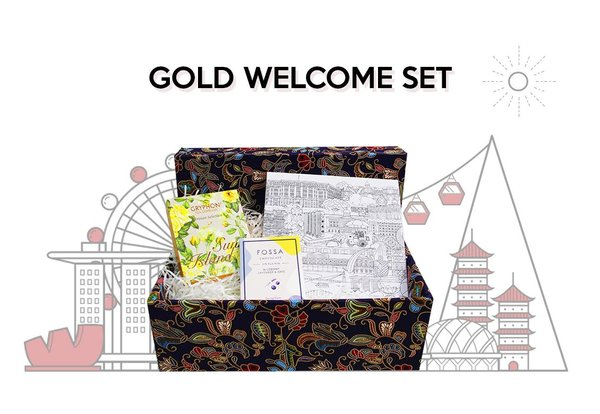 Gold Welcome Set