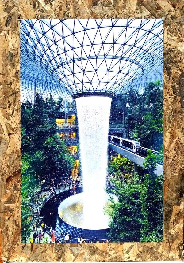 Jewel Changi Airport Canvas Print