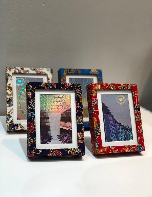 Batik Print Frame