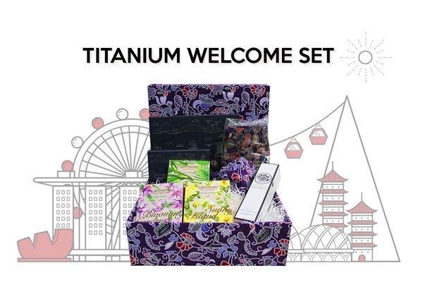 Titanium Welcome Set